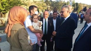 Hemşehri Festivali'nde,Ahlatcı'ya Yoğun İlgi