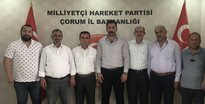 ÇÖZÜM VE ÖNERİLER MHP'YE İLETİLDİ