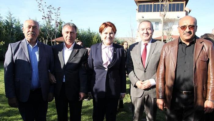 GENEL BAŞKAN'DAN ŞAHİNER'E ZİYARET