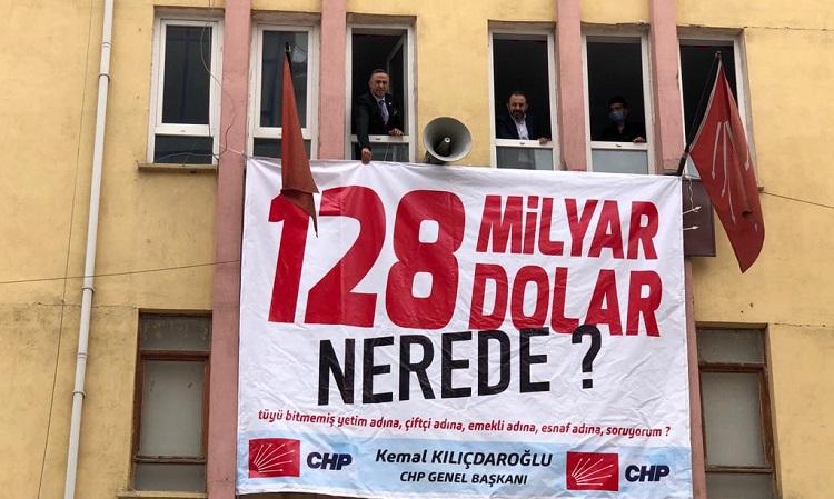 CHP 128 milyar doların peşinde!