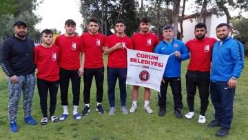 Çorumlu güreşçiler Türkiye 3. oldu