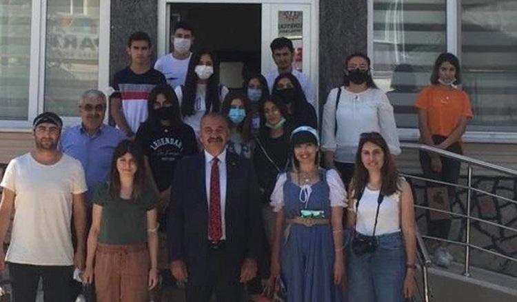 Telafi eğitiminde Ortaköy'ü gezdiler
