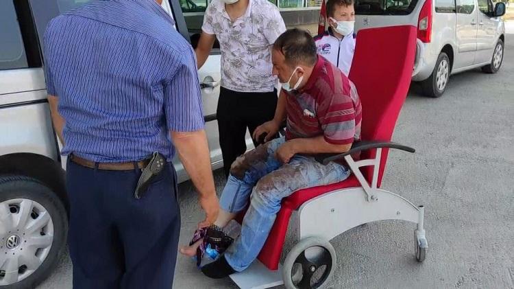 Acemi kasaplar hastaneye koştu