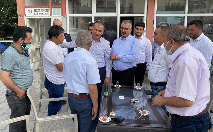 AK Parti İl Teşkilatı sahaya indi
