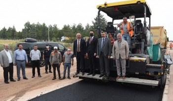 Belediye'den Dodurga'ya asfalt