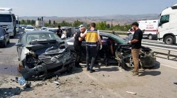 Üzücü kazada 6 kişi yaralandı
