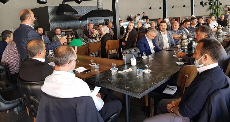 Kavuncu STK temsilcileri ile buluştu