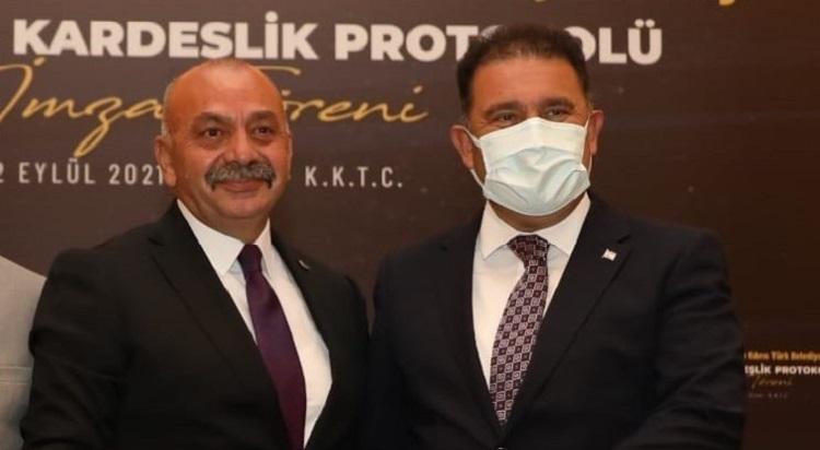 KKTC'de Ortaköy'ü ve Çorum'u tanıttı