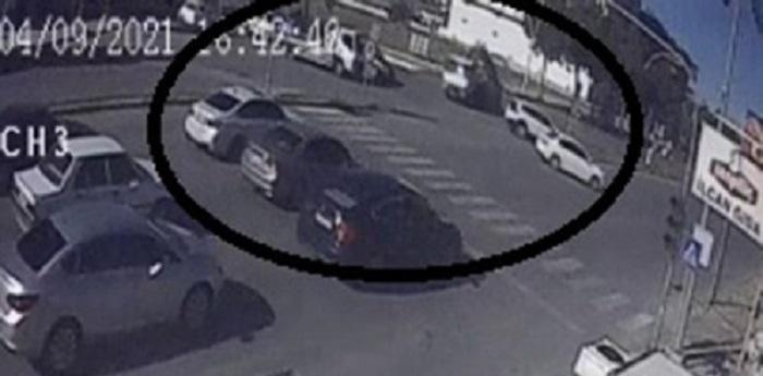 Ölümlü kaza güvenlik kamerasında