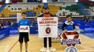 Görkem Öçal Türkiye Şampiyonu oldu