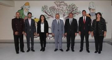 Azerbaycan heyetinden ziyaret