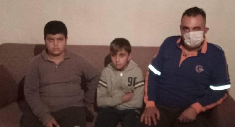 Kaybolan çocuklar sağ salim bulundu