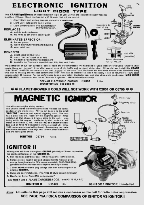 small resolution of part number c6790 magnetic ignitor electronic ignition fits only 62 69 distributors and