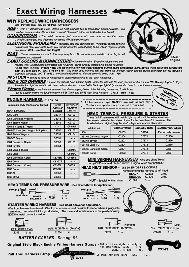 hight resolution of http www corvair com user cgi catalog in page 98