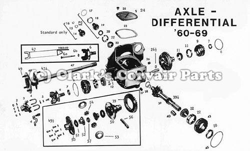 1962 Volkswagen Wiring Diagram. Volkswagen. AutosMoviles.Com