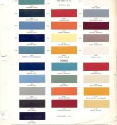 ditzler 1961 commercial colors [ 778 x 1024 Pixel ]