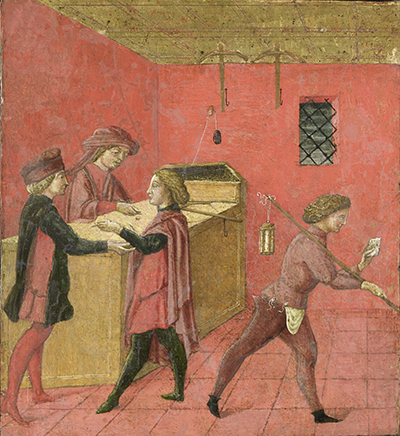 Payment of Salaries to the Night Watchmen in the Camera del Comune of Siena