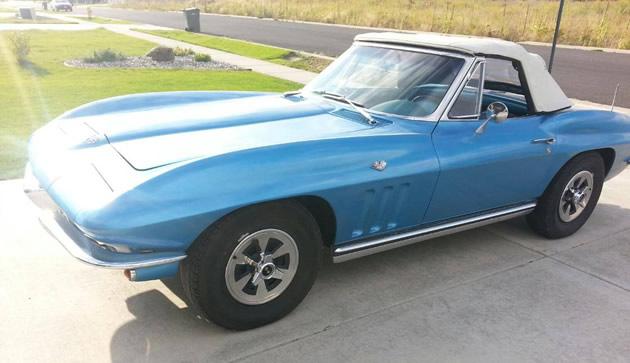 1965 Corvette Stolen from Usk, Washington