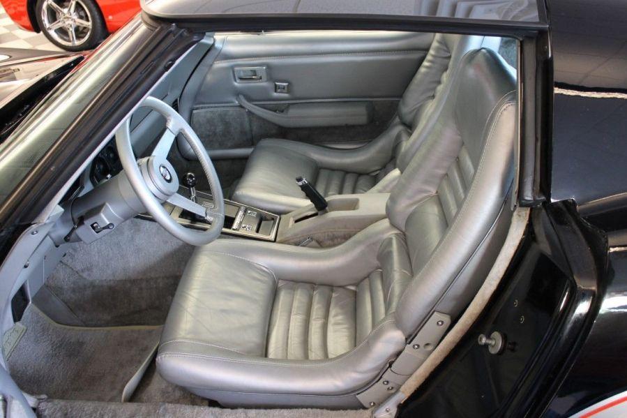 1978 Corvette Indy Pace Car Interior