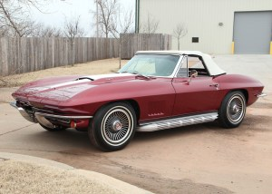 Turns out among the 40 Falbo Corvettes is this very rare L89 convertible |Leake Auction photos