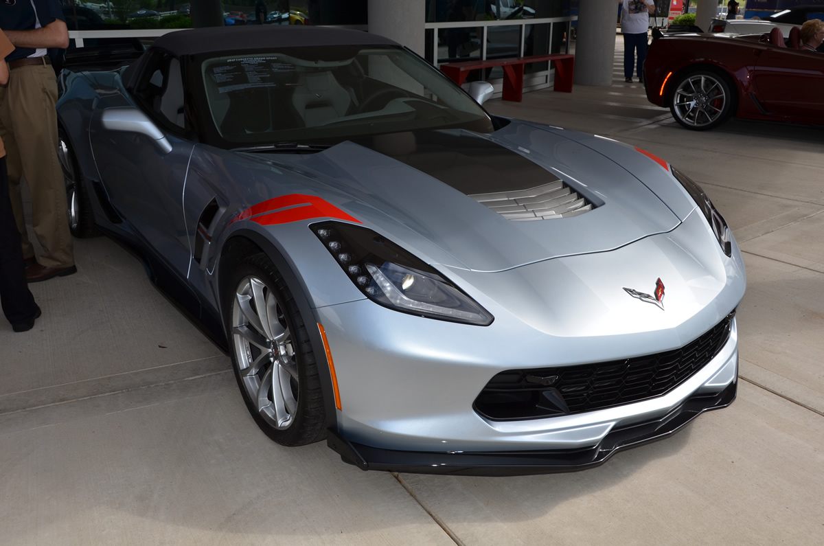 2017 Corvette Grand Sport Heritage Package in Sterling Blue Metallic