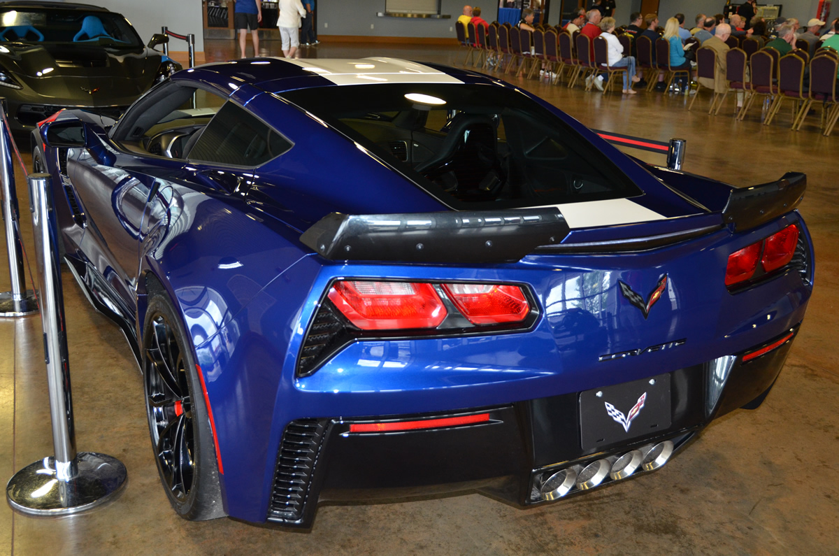 2017 Corvette Grand Sport Z15 Heritage Package in Admiral Blue Metallic