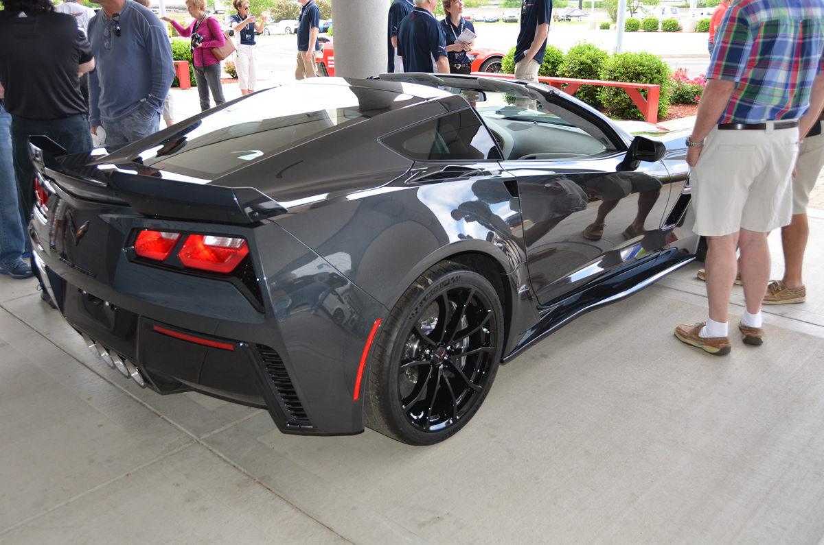 2017 Corvette Grand Sport Heritage Package in Watkins Glen Gray Metallic
