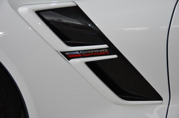 2017 Corvette Grand Sport Heritage Package in Arctic White