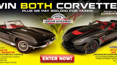CORVETTE DREAM GIVEAWAY FEATURES LINGENFELTER 2016 CORVETTE Z06