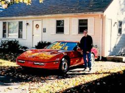 Edward Chaisson of York, Maine parted ways with his beloved '84 Chevy Corvette 20 years ago and has always wanted to find it again. It took some digging, but he found it — in a barn near Bennington, Vt.