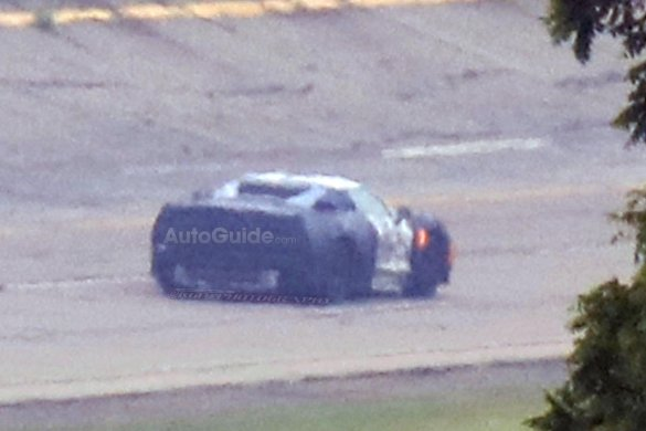 The First Ever Photos of the Mid-Engine Corvette