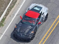 2018 Corvette ZR1 Caught Testing Around Michigan Proving Grounds