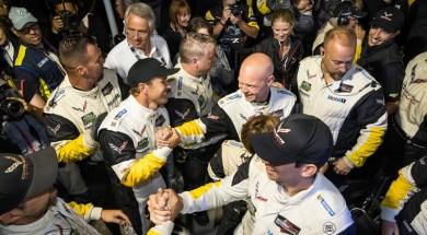 Team Corvette Petit Le Mans IMSA Champions