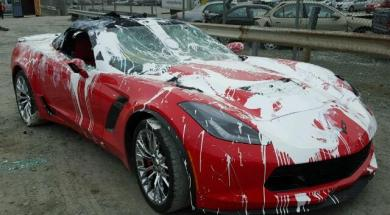 2015 Corvette Z06 Convertible Gets a Paint Job