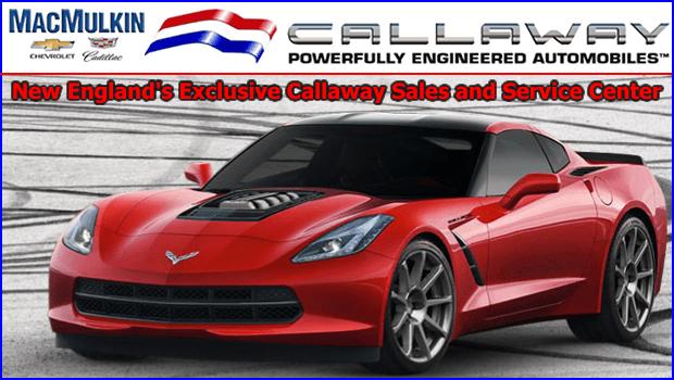 MacMulkin Chevrolet Corvette - New England's Exclusive Callaway Dealer
