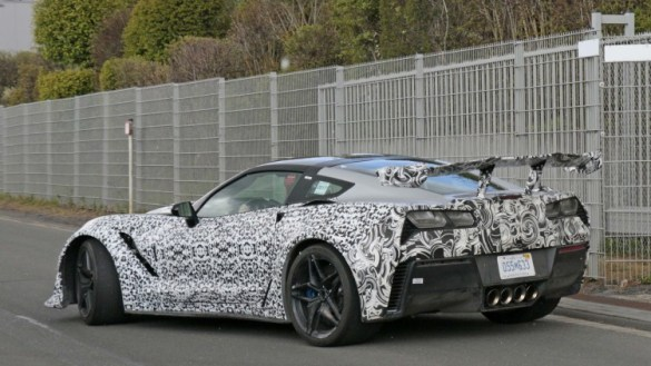 2018 Corvette ZR1 Takes on the Nurburgring