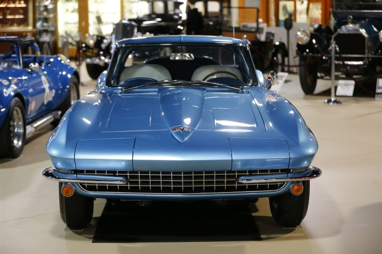 "The 1964 Corvette that was specially built for Chevrolet's General Manager Semon E. ""Bunkie"" Knudsen as his personal car was among those donated to the Pierce-Arrow. Click on the photo to see more images of the classic cars. (Mark Mulville/Buffalo News)"