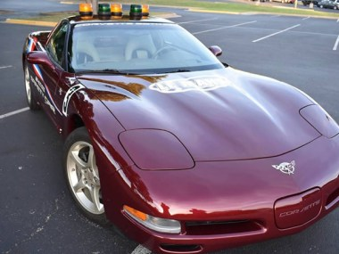 2003 Chevrolet Corvette 50th Anniversary Coupe – 24 Hours of Le Mans Safety Car