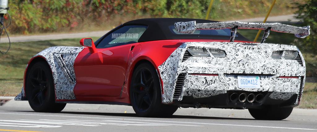 1997 Corvette For Sale >> Spied - 2019 Corvette ZR1 Interior with Automatic Transmission and Carbon Fiber Trim - Corvette ...
