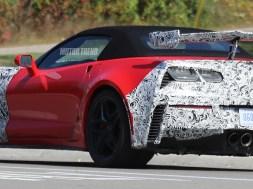 Spied – 2019 Corvette ZR1 Interior with Automatic Transmission and Carbon Fiber Trim