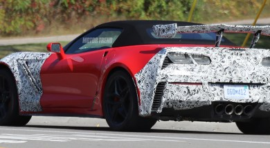 Spied – 2019 Corvette ZR1 Interior with Automatic Transmission and Carbon Fiber Trim