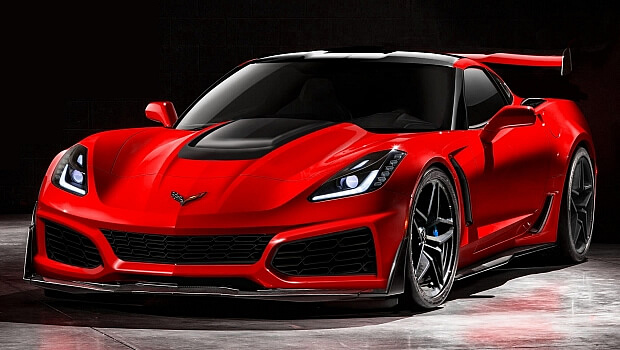 2019 Corvette ZR1 Rendering