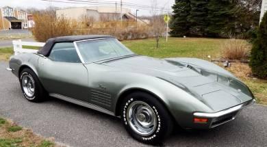 1971 Corvette ZR1 Convertible – 1 of 1
