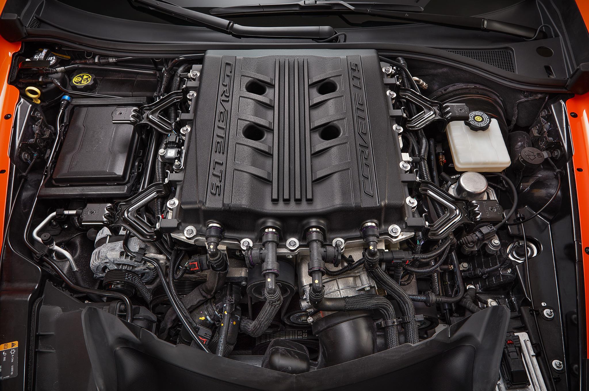 2019 Corvette ZR1 LT5 Engine