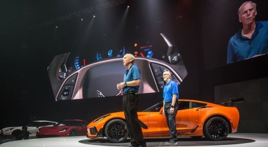 Corvette Chief Engineer, Tadge Juechter Introduces the 2019 Corvette ZR1 in Dubai