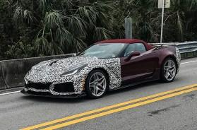 2019 Corvette ZR1 Prototype – Florida Everglades