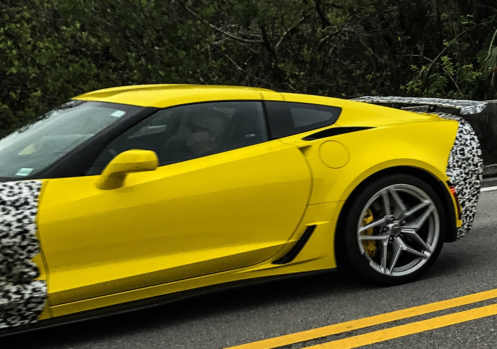 2019 Corvette ZR1 Prototype - Florida Everglades