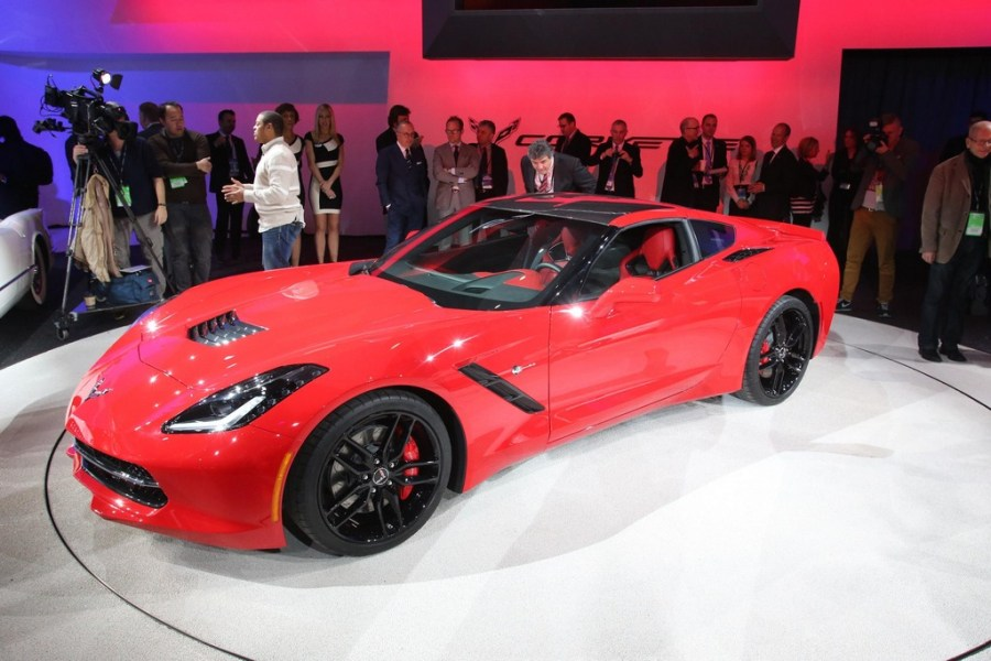 2014 Corvette Stingray at the NAIAS in Detroit