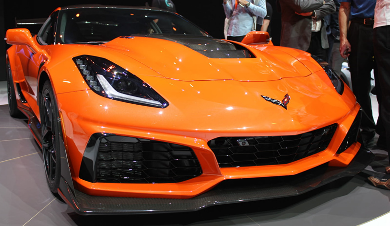2019 Corvette ZR1 features 13 heat exchangers
