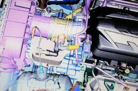 Mid-Engine Corvette Powertrain